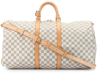 Louis Vuitton 2007 pre-owned Damier Speedy Bandouliere 55 travel bag