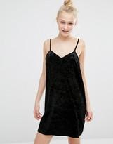 Monki Velvet Cami Dress