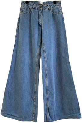 Magda Butrym Blue Denim - Jeans Jeans