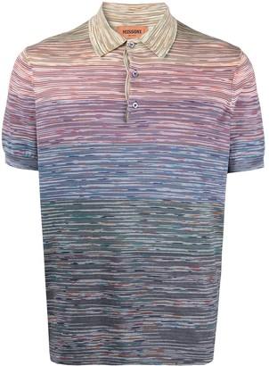 Missoni Stripe-Print Polo Shirt
