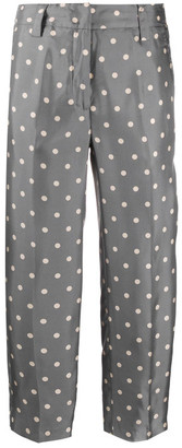 Seventy Polka Dot Cotton Trousers