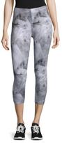 So Low Shatter Print Capri Leggings