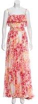 Just Cavalli Floral Maxi Dress