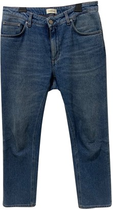 Totême Straight Blue Cotton - elasthane Jeans for Women