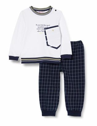 Brums Baby Boys' Compl.2 Pz.top Felpina+Pant.Felpa T.filo Clothing Set