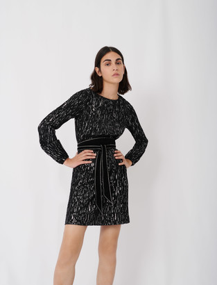 Maje Short pleated dress