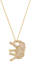 Marc Alary Diamond & yellow-gold necklace