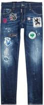 Dsquared2 Cool Guy Badge-appliquéd Slim-leg Jeans