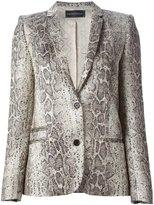 Zadig & Voltaire 'Vedaz Python Deluxe' jacket