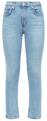 AGOLDE Toni Mid-Rise Straight Jeans