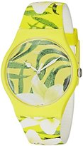 Swatch Unisex SUOJ104 Analog Display Swiss Quartz Multi-Color Watch