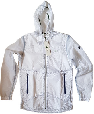 Lacoste White Synthetic Jackets
