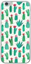 iPhone 6 Plus/6S Plus Case, CoverProof Fashion Painting Case Fruit Watermelon Banana Cactus Flamingo Shell Soft TPU Cover for iPhone 6 Plus/6S Plus - Cactus 3