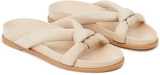 Lafayette 148 New York Honore Flat Slide Sandal