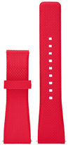 Michael Kors Access Bradshaw Silicone Strap/Red