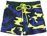 Fred Mello Camouflage Printed Nylon Swim Shorts