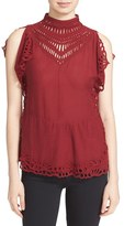 IRO Women's 'Jala' Eyelet Lace Top