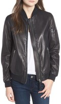 Mackage Women's Leather Bomber Jacket
