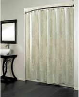 Bed Bath & Beyond Forest Fabric Metallic Print Shower Curtain