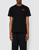 Comme des Garcons Play T-Shirt in Black
