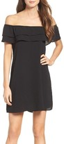Women's Mary & Mabel Off The Shoulder Ruffle Dress