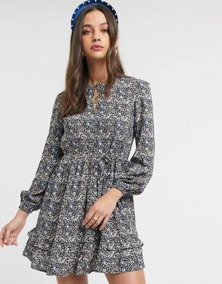 Miss Selfridge smock dress in floral print