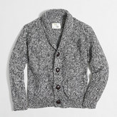 J.Crew Factory Boys' marled shawl-collar cardigan sweater