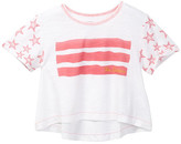 True Religion Stars & Stripes Trapeze Tee (Toddler & Little Girls)