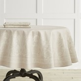 "Williams-Sonoma Williams Sonoma Vintage Floral Jacquard Tablecloth, 70"" Round"