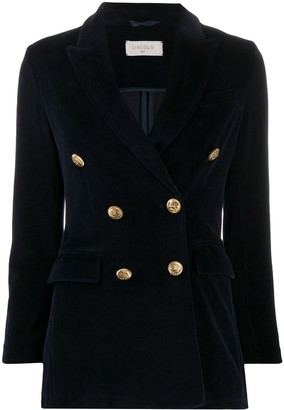 Circolo 1901 Double-Breasted Fitted Jacket