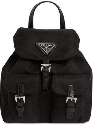 Prada Mini Nylon Backpack
