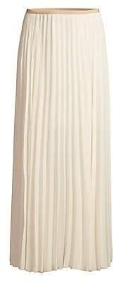 Peserico Women's Pleated Midi Skirt