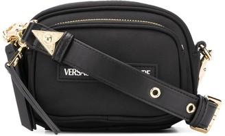 Versace Logo Patch Cross Body Bag