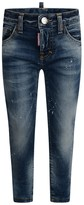 DSQUARED2 Boys Blue Distressed Cool Guy Jeans