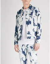 Loewe X William Morris Bleached Denim Jacket