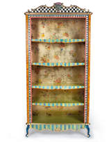 Mackenzie Childs MacKenzie-Childs Arlecchino Bookcase