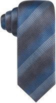 Alfani Men's Textured Surrey Striped Slim Tie, Only at Macy's