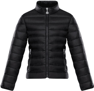Moncler Girl's Kaukura Quilted Down Jacket, Size 4-6