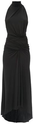 Alexandre Vauthier Halterneck Stretch-jersey Dress - Black