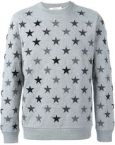 Givenchy star embroidered sweatshirt