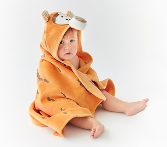 Pottery Barn Kids Disney Winnie the Pooh Tigger Baby Hooded Towel