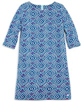 Vineyard Vines Girls' Whale Tail Print Shift Dress - Big Kid