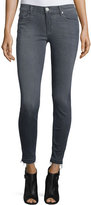 Hudson Nico Released-Hem Skinny Ankle Jeans, Gray