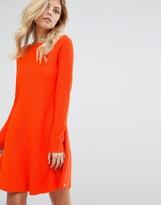 BOSS ORANGE Lesibell Orange Knitted Dress
