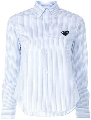 Comme des Garcons Stripe-Print Button-Down Shirt