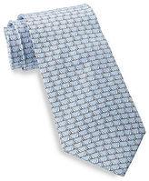 Rochester Sailboat Silk Tie Casual Male XL Big & Tall