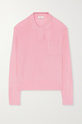 Nina Ricci Stretch-knit Sweater - Pink