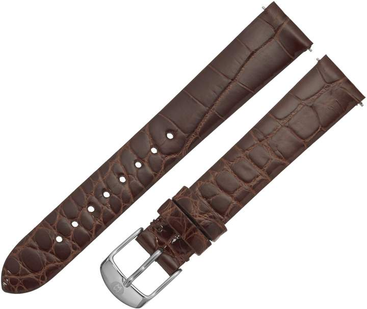 Michele Women's MS16AN010278 Analog Display Brown Watch Band