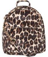 Dorothy Perkins Womens Leopard Print Mini Cross Body Bag- Leopard
