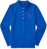 Ralph Lauren Long-Sleeve Polo, Big Girls (7-16)